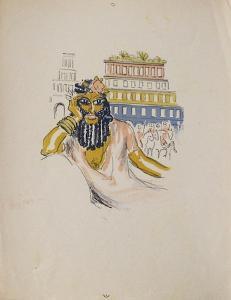 La Princesse de Babylone 02 (Essai 4) by Kees van Dongen