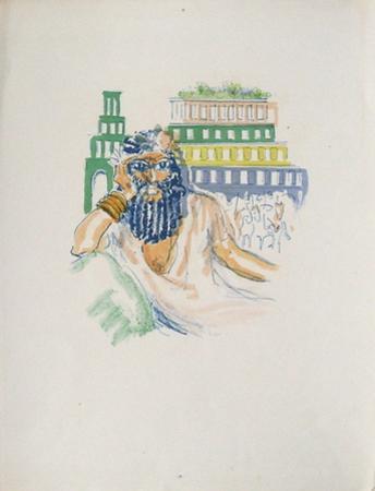 La Princesse de Babylone 02 (Essai 5) by Kees van Dongen