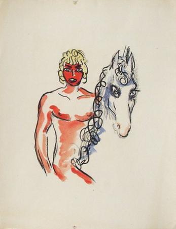 La Princesse de Babylone 03 (Essai 1) by Kees van Dongen