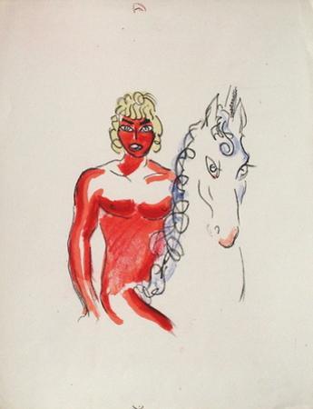 La Princesse de Babylone 03 (Essai 2) by Kees van Dongen