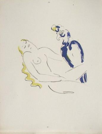 La Princesse de Babylone 06 (Essai) by Kees van Dongen