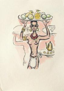 La Princesse de Babylone 07 (Suite couleur) by Kees van Dongen