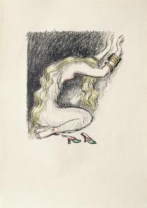 La Princesse de Babylone 20 (Suite couleur) by Kees van Dongen