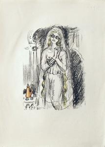 La Princesse de Babylone 21 (Suite couleur) by Kees van Dongen