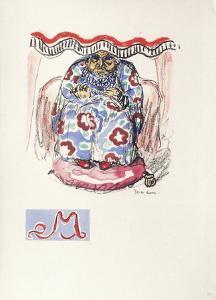 La Princesse de Babylone 22 (Suite couleur) by Kees van Dongen