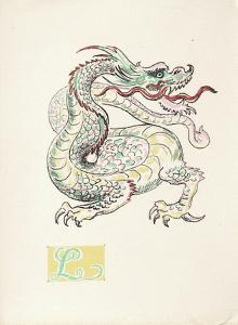 La Princesse de Babylone 24 (Suite couleur) by Kees van Dongen