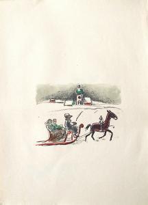 La Princesse de Babylone 27 (Suite couleur) by Kees van Dongen