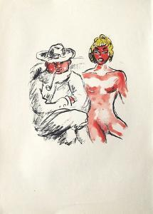 La Princesse de Babylone 31 (Suite couleur) by Kees van Dongen