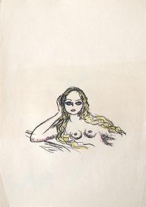 La Princesse de Babylone 32 (Suite couleur) by Kees van Dongen