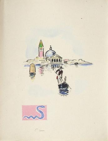 La Princesse de Babylone 35 (Essai) by Kees van Dongen