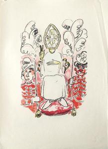 La Princesse de Babylone 36 (Suite couleur) by Kees van Dongen