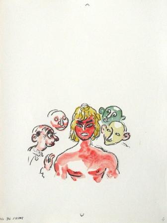 La Princesse de Babylone 37 (Suite couleur) by Kees van Dongen