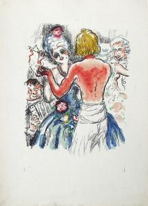 La Princesse de Babylone 39 (Suite couleur) by Kees van Dongen