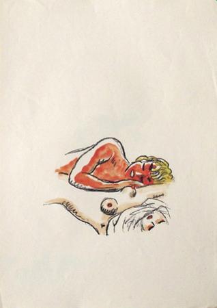 La Princesse de Babylone 40 (Suite couleur) by Kees van Dongen