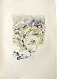 La Princesse de Babylone 43 (Suite couleur) by Kees van Dongen