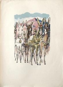 La Princesse de Babylone 44 (Suite couleur) by Kees van Dongen