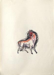 La Princesse de Babylone 45 (Suite couleur) by Kees van Dongen