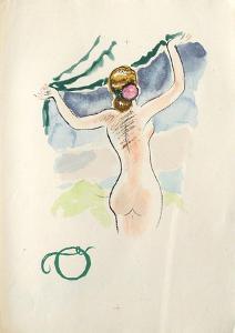 La Princesse de Babylone 47 (Suite couleur) by Kees van Dongen