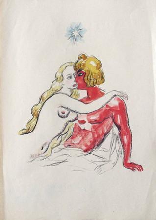 La Princesse de Babylone 48 (Suite couleur) by Kees van Dongen