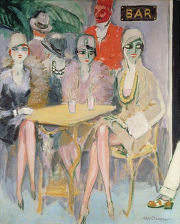 The Cairo Bar, 1920 by Kees van Dongen