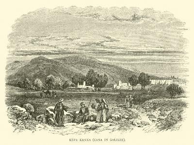 Kefr Kenna, Cana in Galilee--Giclee Print