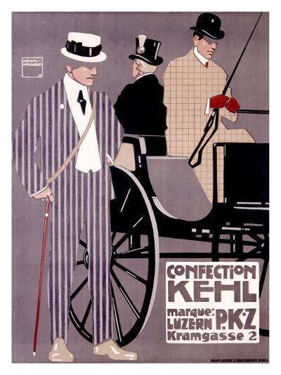 Kehl, PKZ-Ludwig Hohlwein-Giclee Print