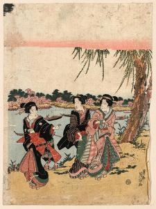 Mimeguri No Hanami by Keisai Eisen