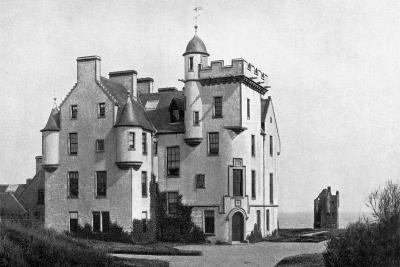 Keiss Castle, Caithness, Scotland, 1924-1926-Valentine & Sons-Giclee Print