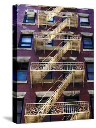 Stairway Outside a Building on Mercer Street in Soho