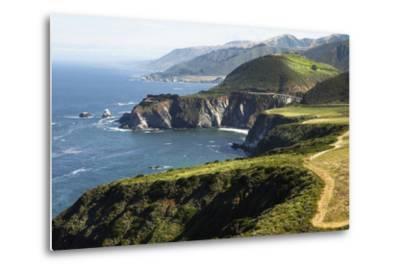 The Bixby Creek Bridge the Scenic Big Sur Pacific Ocean Coast