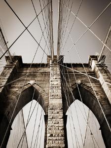 The Brooklyn Bridge, a National Landmark by Keith Barraclough