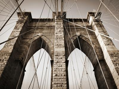 The Brooklyn Bridge, a National Landmark by Keith Barraclough