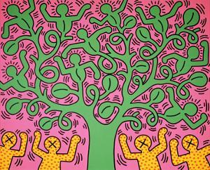 KH01 by Keith Haring