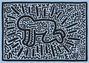 KH18 by Keith Haring