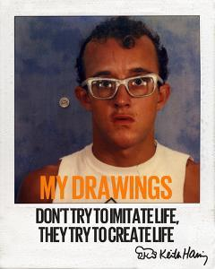 My Drawings by Keith Haring