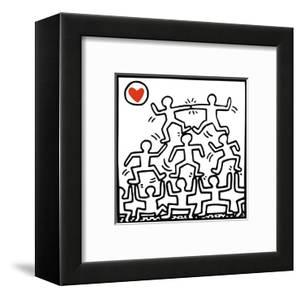One Man Show (details) by Keith Haring