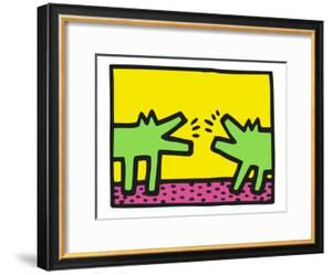 Pop Shop (Dogs) by Keith Haring