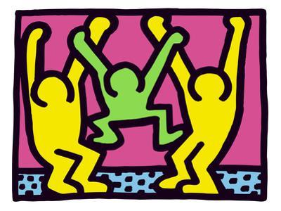 Pop Shop (Family) by Keith Haring