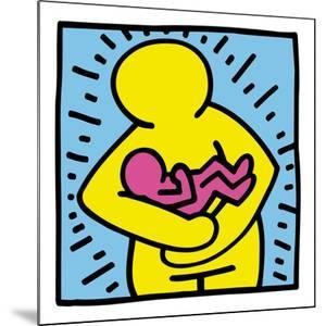 Pop Shop (Mother and Baby) by Keith Haring