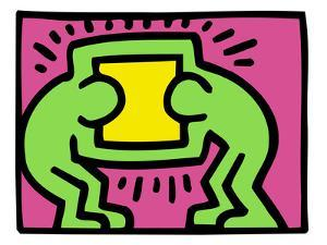 Pop Shop (TV) by Keith Haring