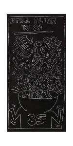 Still Alive in 85 by Keith Haring