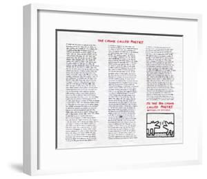 The Chunk Called Poetry by Keith Haring