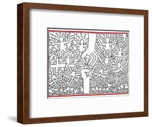 The Marriage of Heaven and Hell, 1984 by Keith Haring
