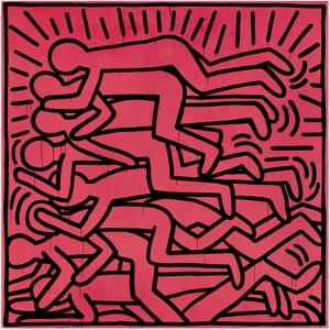 Untitled, 1982 by Keith Haring