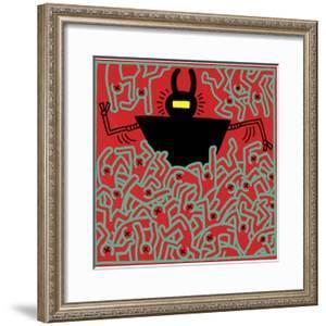 Untitled 1983 by Keith Haring