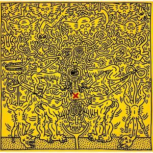 Untitled 1985 by Keith Haring
