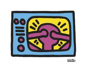 Untitled, 1987 (TV) by Keith Haring