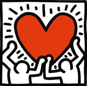 Untitled, c.1988 by Keith Haring