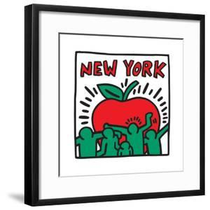 Untitled Pop Art - New York by Keith Haring