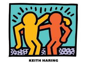Untitled Pop Art by Keith Haring